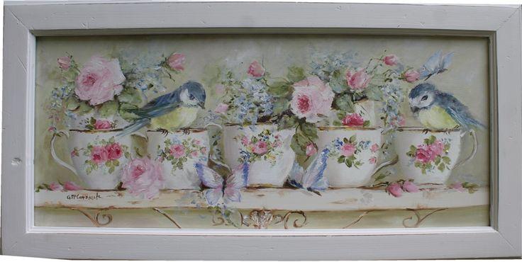 Birds, Butterflies and Tea Cups