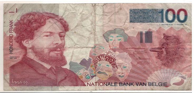 Belgien 100 Frank Francs 1995 2001 Banknote s N 21901013927 | eBay