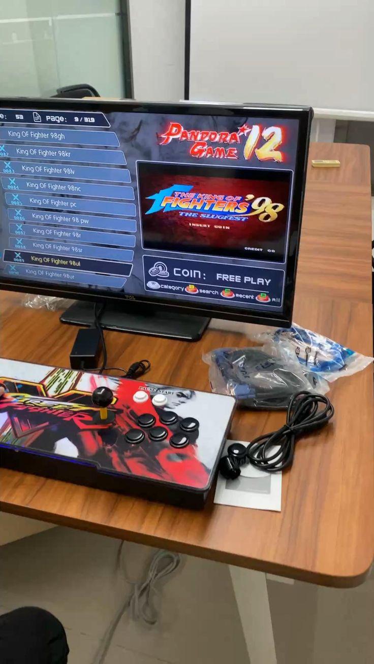 3188 in 1 pandora's box 12 3d arcade game handheld Video