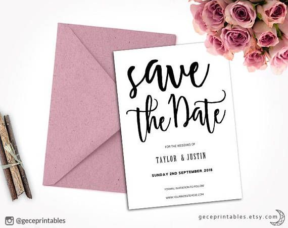Best Save The Date Templates Ideas On Pinterest Save The