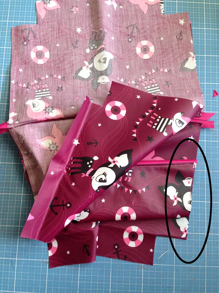 Tutorial: Eine zusätzliche Reißverschlusstasche einnähen | lillesol & pelle Schnittmuster, Ebooks, Nähen