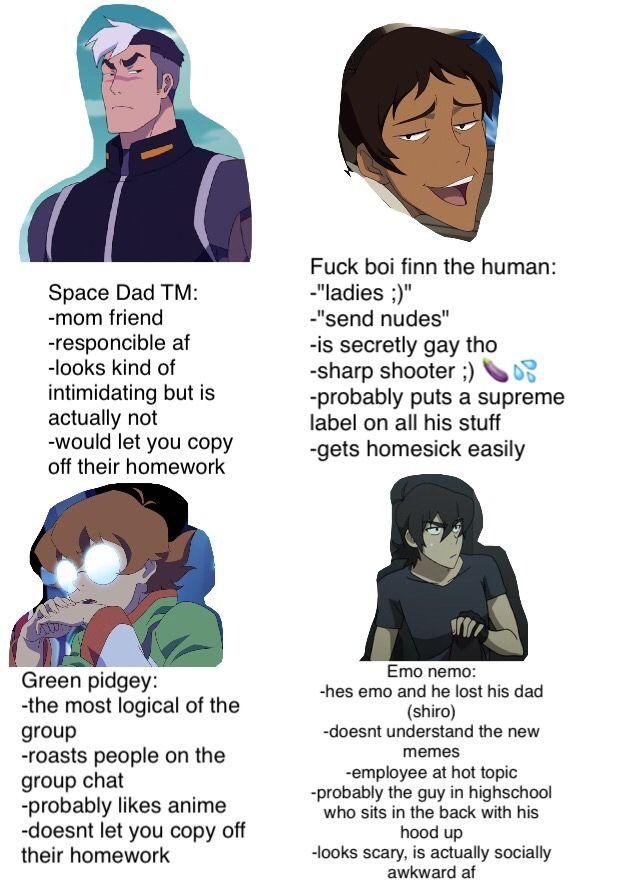 57bf90a94 I'm space dad....   Avatar   Voltron memes, Form voltron, Klance