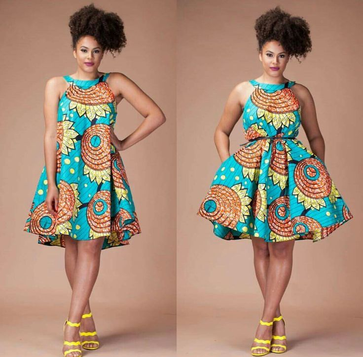 Different styles of african dresses