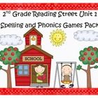 What a fun and engaging way to practice the spelling and phonics patterns from Reading Street Basal Series Unit 1!  This pack includes 9 games that...