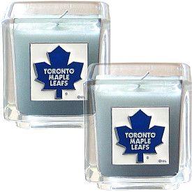 Siskiyou Toronto Maple Leafs Candle Set - Shop.Canada.NHL.com