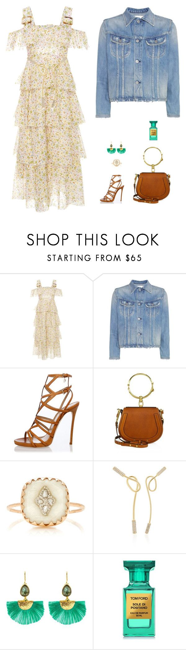 """""""fashion blogger"""" by candynena228 ❤ liked on Polyvore featuring AlexaChung, Citizens of Humanity, Dsquared2, Chloé, Pascale Monvoisin, Joanna Laura Constantine, Ottoman Hands and Tom Ford"""