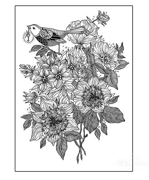 Free A4 Colouring Pages For Adults : 1892 best coloring pages for adults printables and freebies