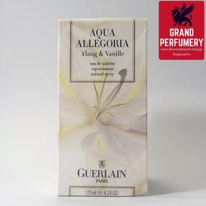 Guerlain Aqua Allegoria Ylang & Vanille 2001 EDT 125 ml./4.2 fl. oz. @Grand Perfumery