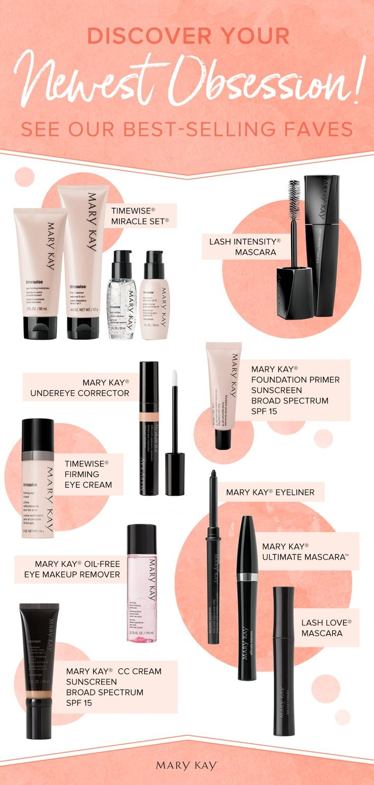 Only the best for you, beauties! From multitasking makeup to smart skin care, women love these best sellers because they work. | Mary Kay