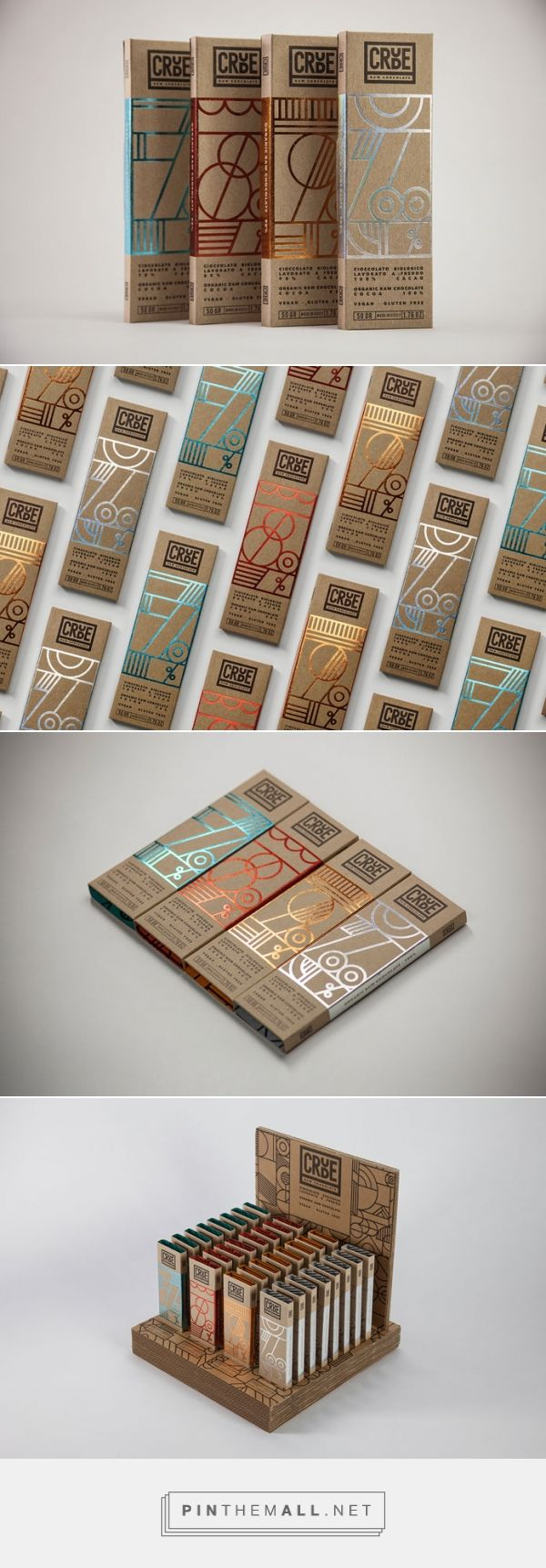 CRUDE – chocolate brand and packaging by Happycentro - created via https://pinthemall.net