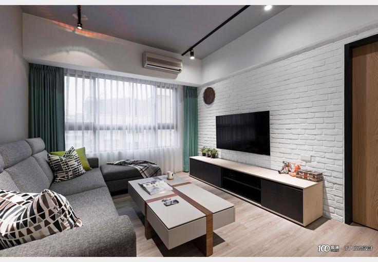 深坑住宅-Ss_工業風設計個案—100裝潢網