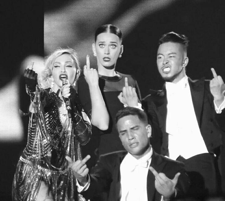 Madonna and Katy