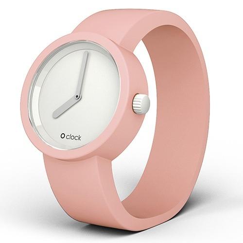 o'clock watch strap - powder pink (small)