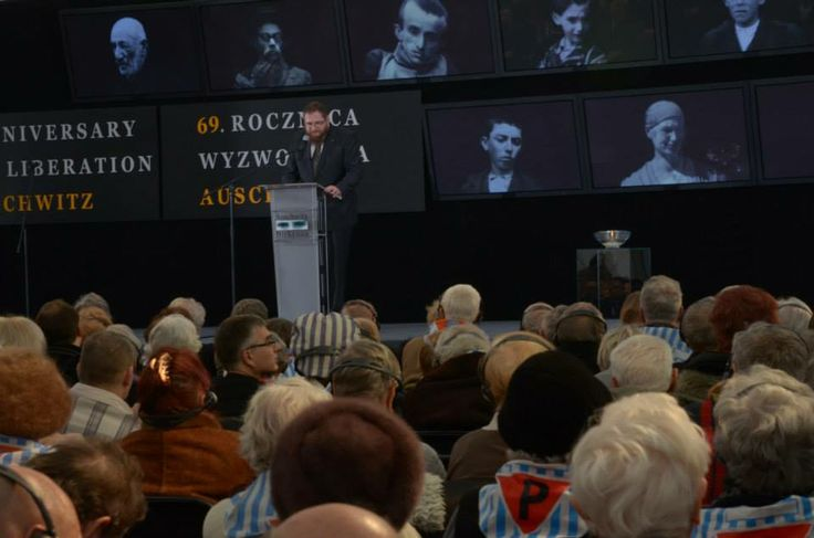 The director of the Auschwitz Memorial Piotr M.A. Cywiński.