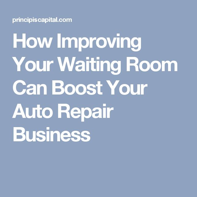 Cottman Transmission And Total Auto Care Of Marietta: How Improving Your Waiting Room Can Boost Your Auto Repair