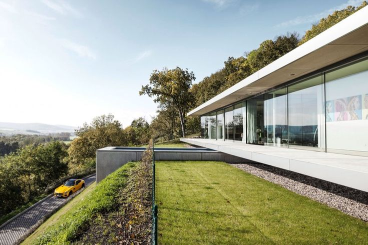 Glass House in Germany Is the Ultimate Modern Retreat - http://freshome.com/glass-house-germany-ultimate-modern-retreat/