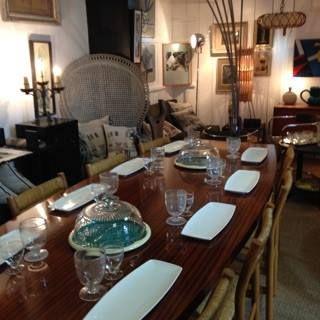 table knoll 2m50 - Maison Vintage, Ars-en-Ré