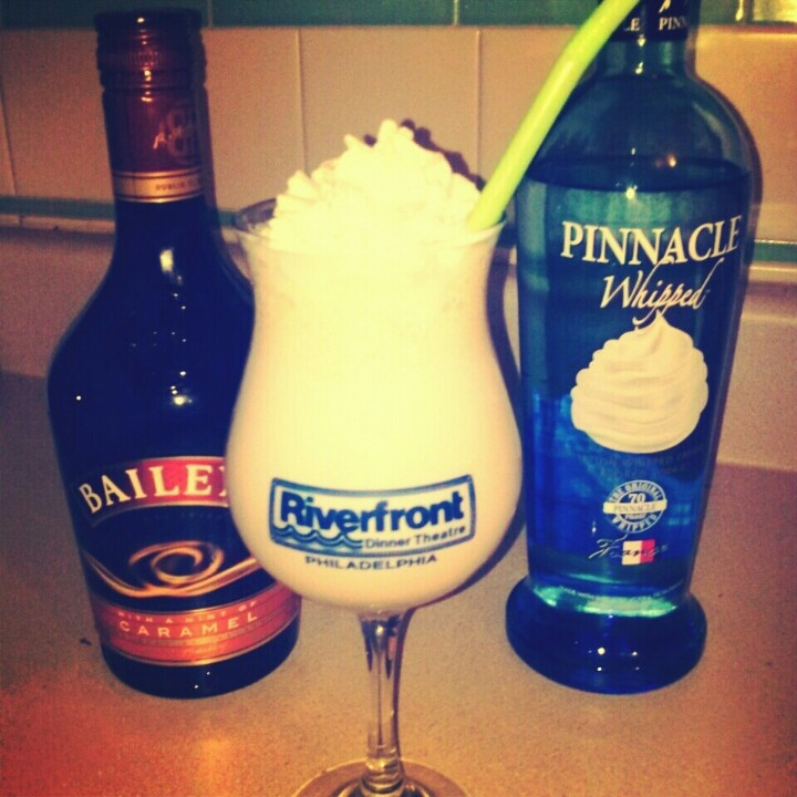 Yummy alcoholic coffee drink baileys caramel whipped for Ice cream with alcohol