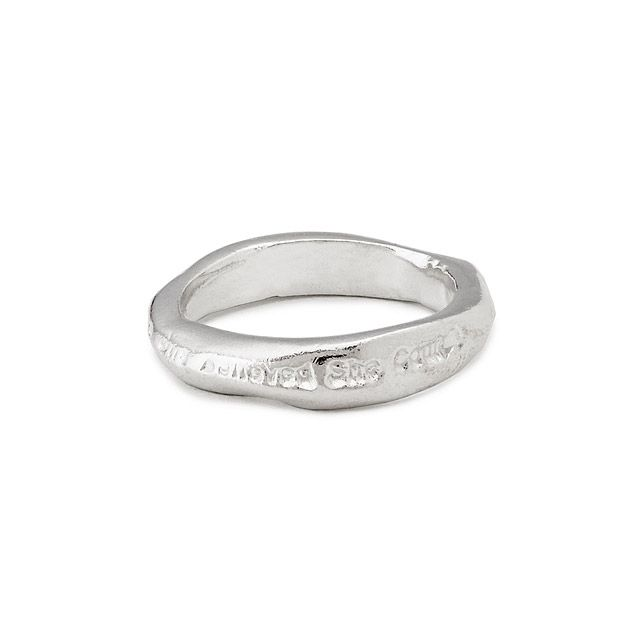 """""""She Believed She Could"""" Sterling Silver Ring 