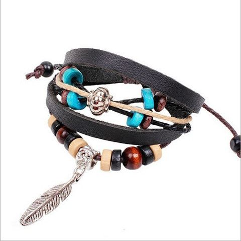 Arm Candy Feather Charm