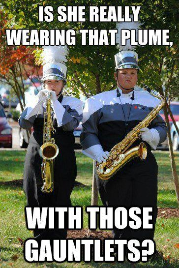 Marching Band Problems. Bahahaha. I just died. I don't care that my geek side is showing :D