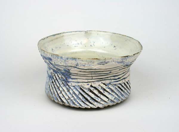 Kasten Blue Bowl Cinched Waist