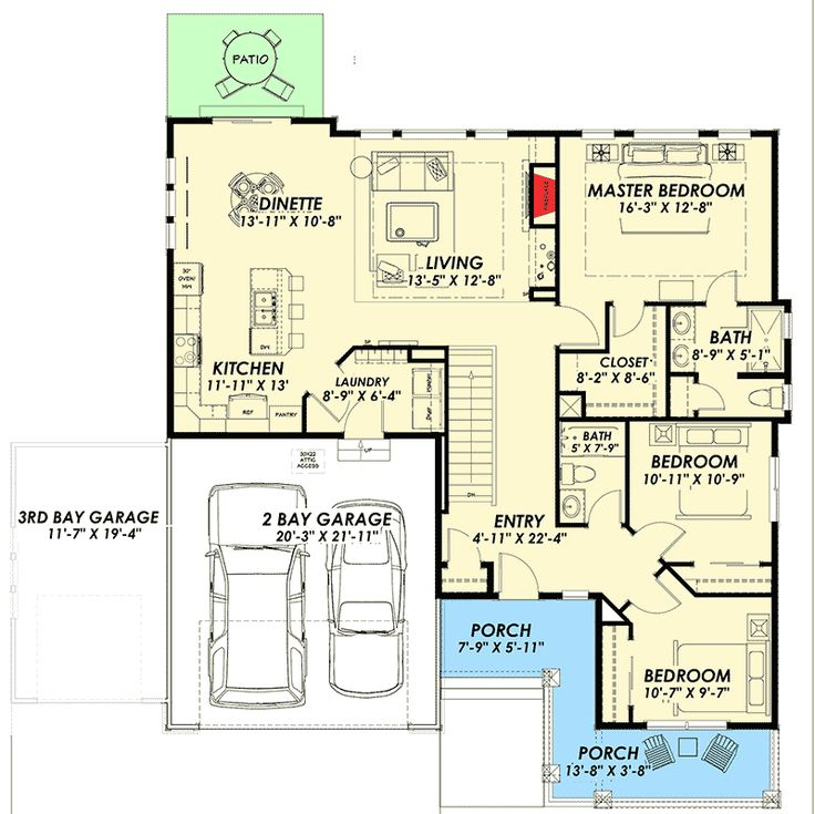 Plan 64431sc northwest house plan with optional lower for Northwest house plans