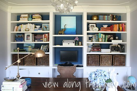 1000 Images About Built In Shelves Amp Office Den Ideas On