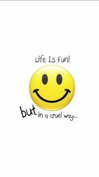 Humor Smiley Mobile Wallpaper