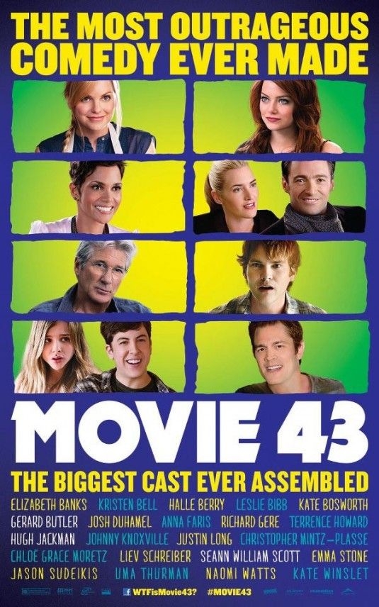 chloe moretz movie 43 poster | Movie 43 opens January 25th, 2013.