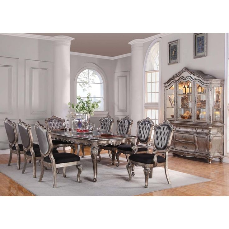 Chantelle Dining room table and chairs