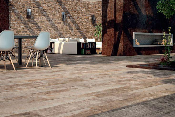 M s de 1000 ideas sobre pisos de madera de cer mica en - Pavimentos terrazas exteriores ...