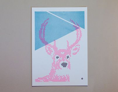 """Check out new work on my @Behance portfolio: """"ANIMALS TRIANGLE SERIES"""" http://on.be.net/1NLGtMU"""