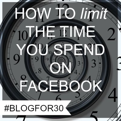How to limit the time you spend on Facebook