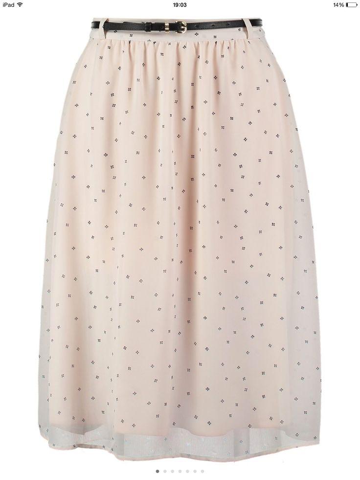 Skirt Zalando Pink Pastel
