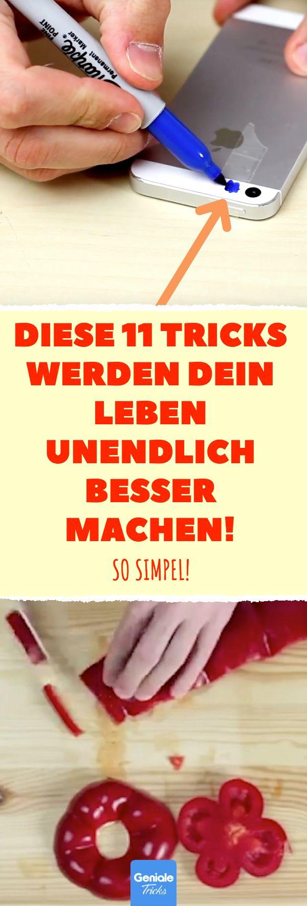 Diese 11 Tricks werden dein Leben unendlich besser machen! So simpel! #lifehacks…