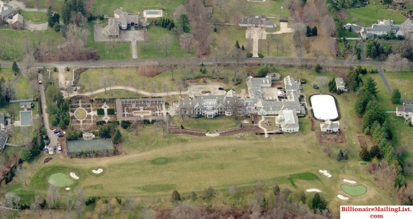 Mega Mansion of Billionaire Steven A Cohen in Greenwich, CT