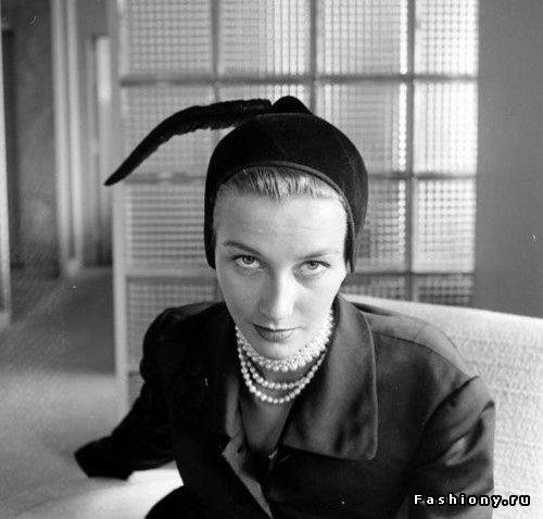Мода 40-50-х годов на фото Нины Лин