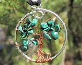 Malachite Tree of Life
