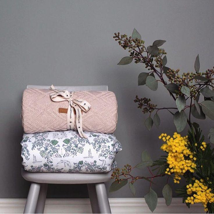 Soft baby & junior blankets #minimblankets 100% organic cotton percale (90x120cm)