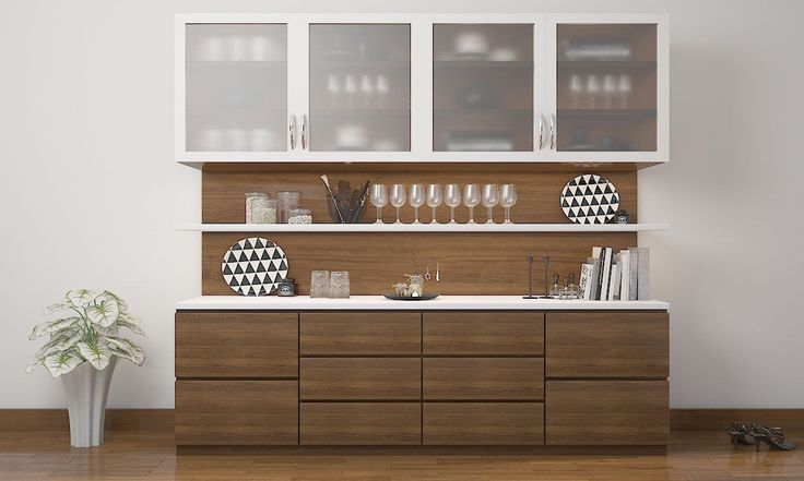 L-shaped crockery unit - Google Search