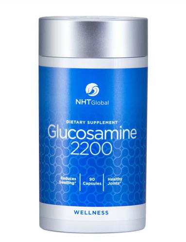 #Glucosamine 2200   NHT Global's unique dietary #supplement, creates building blocks to promote #joint health and #cartilage production. Our verified formula is made up of #Glucosamine for the friction between bones, Shark Cartilage for relief in the knee and back, Green Lip Mussel for cartilage repair, and Turmeric for #joint #comfort.