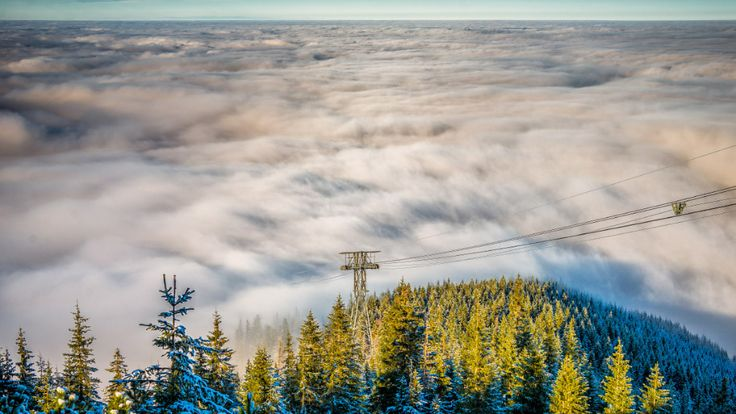 Tatra Mountains, mountains, clouds, fog, hiking, landscape, landscape mountains,