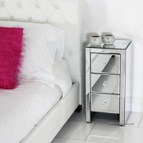 furniture glossy white narrow bedside table design ideas with awesome glossy table surface design
