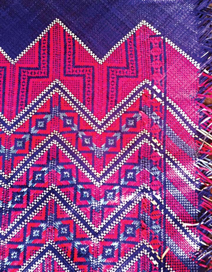 Palm Floor Bed Mat Palawan Weaving Philippines
