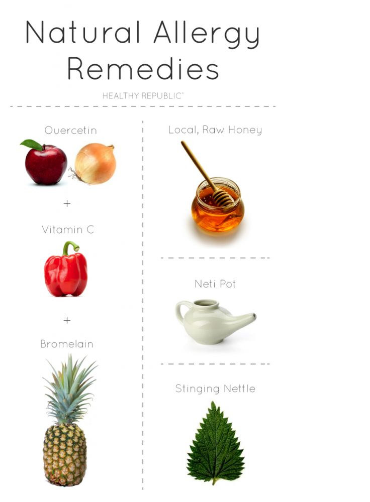 Home remedy allergies