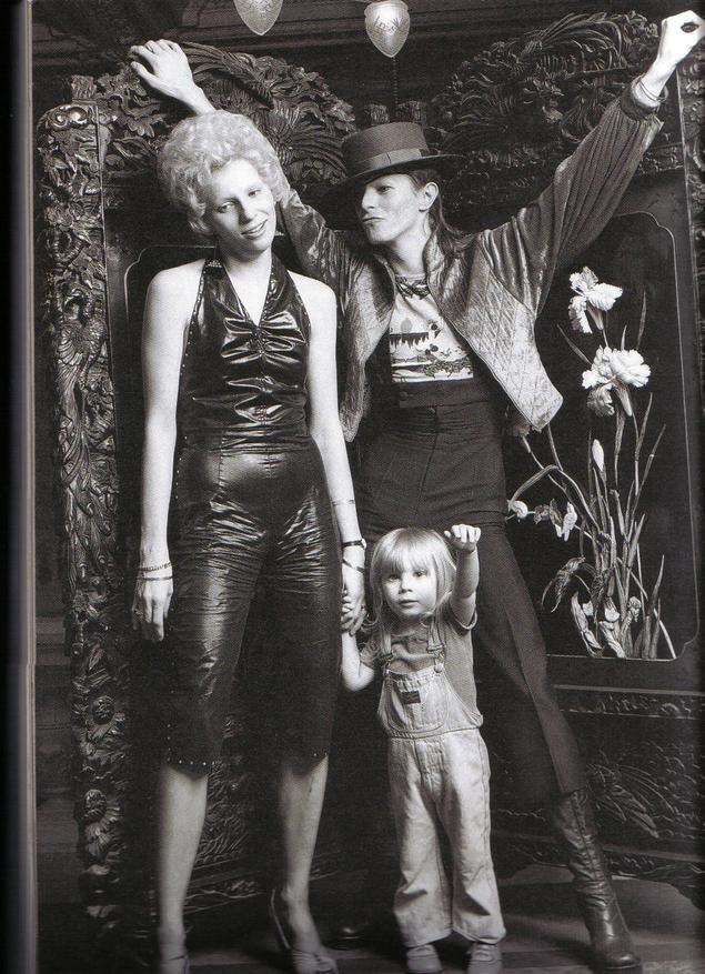 Ziggy Stardust, Angela Bowie & Duncan Jones is their son (LIFE)
