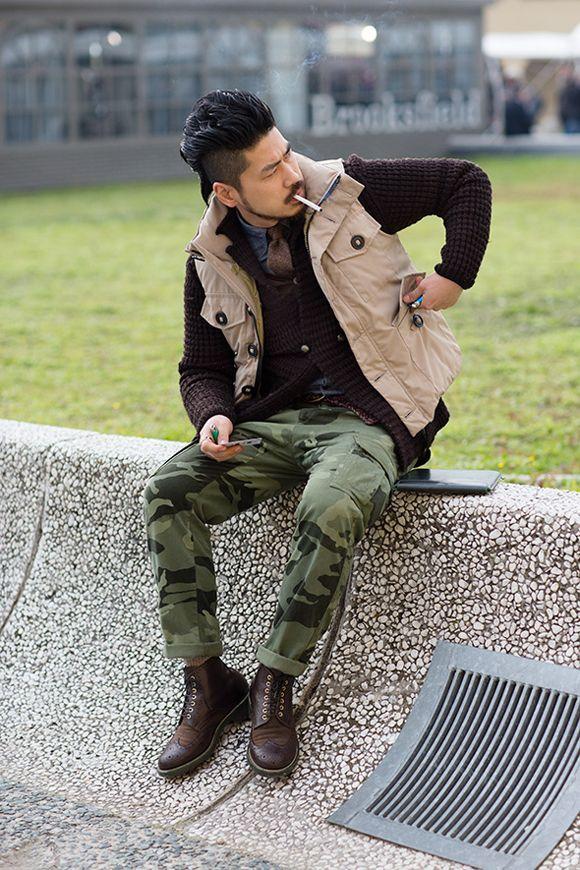 Camo Pants Fashion trend