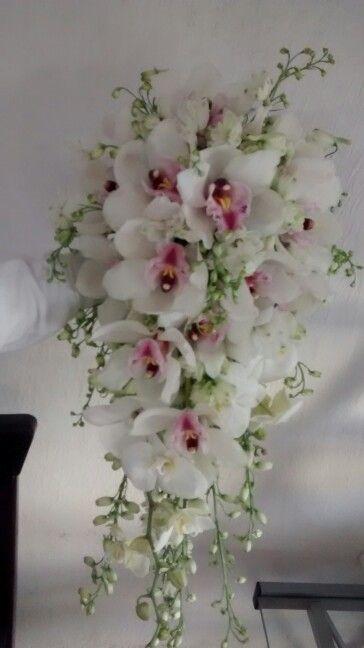 Hermoso Ramo de Novia!! Orquideas FlorArt envíofloral.com