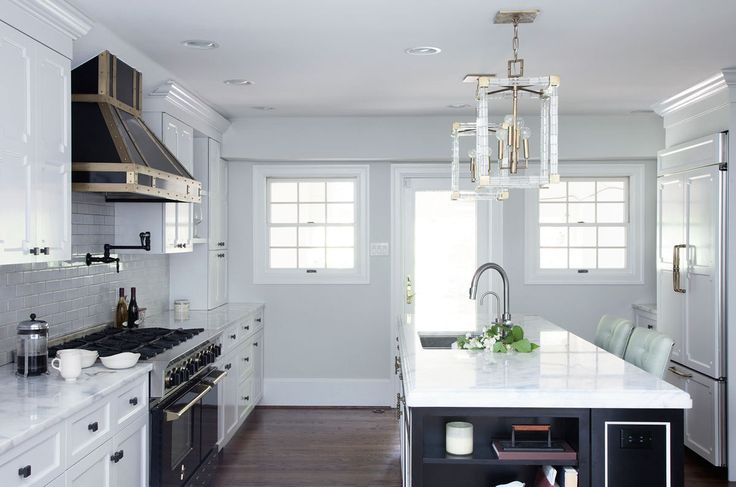 Kitchen Lessons: Stealth Glamour #HomeDecorators #Homes #Kitchens